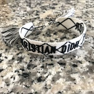 Dior Woven Bracelet (White only)